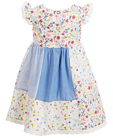 Little Girls Patchwork Dress