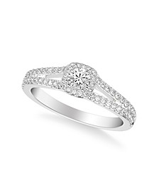 Diamond Engagement Ring (1/2 ct. t.w.) in 14k White, Yellow or Rose Gold