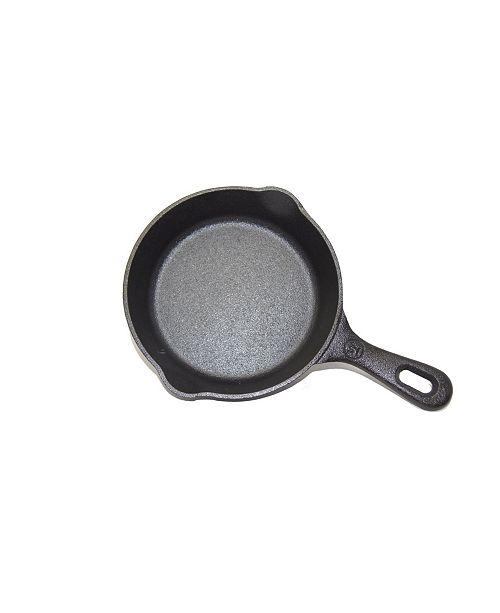 """Westinghouse 6.5"""" Seasoned Cast Iron Round Skillet"""