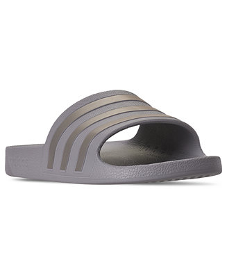 Women's Originals Adilette Aqua Slide Sandals From Finish Line by General