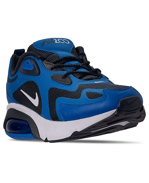 Varios oxígeno Ya  Nike Men's Air Max 200 Running Sneakers from Finish Line & Reviews ...