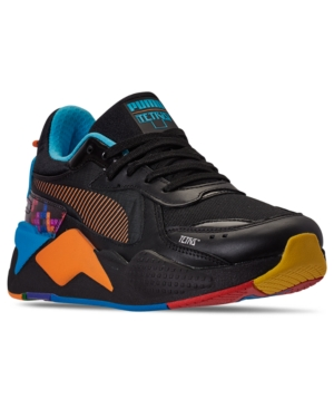 Puma Sneakers MEN'S RS-X TETRIS CASUAL SNEAKERS FROM FINISH LINE