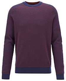 BOSS Men's Arrods Two-Tone Jacquard Sweater