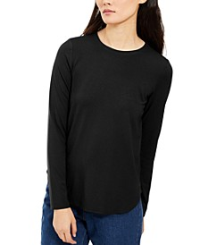 Crewneck Long-Sleeve Top, Created For Macy's