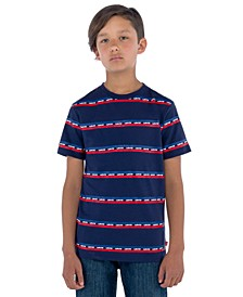 Little Boys Logo Stripe T-Shirt