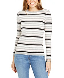 Lucy Cotton Striped Sweater