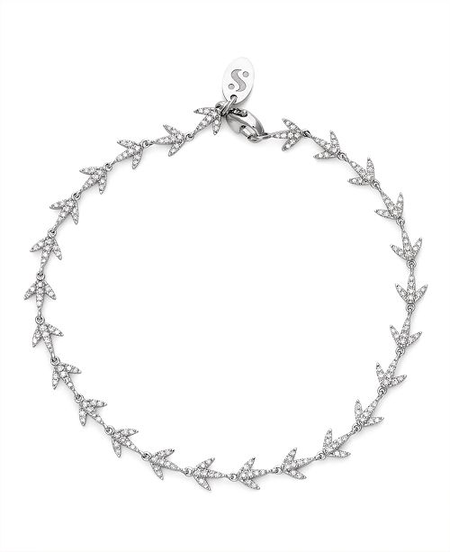 Serena Williams Jewelry Diamond (1/2 ct. t.w.)Bracelet in 14K White Gold