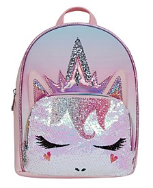 Miss Gwen Ombre Sequins Mini Backpack