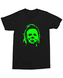 Green Michael Myers Men's Graphic T-Shirt