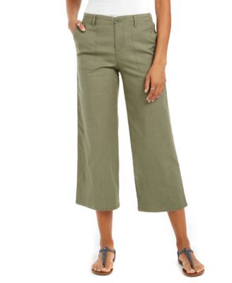 Cropped Capri Pants Trousers with Matching Jacket 3 Colours sizes 10 to 16