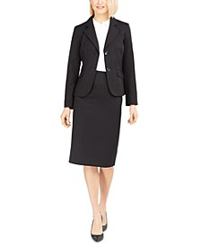 Two-Button Skirt Suit