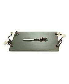 Dogwood Cheese Board w/ Knife