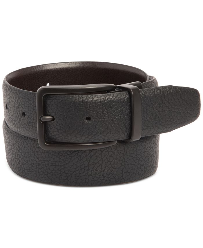 Kenneth Cole Reaction - Men's Stretch Reversible Faux-Leather Belt