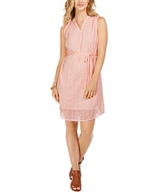 Textured Cotton Dress, Created For Macy's