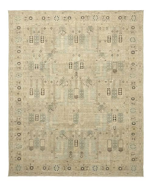 """Timeless Rug Designs CLOSEOUT! One of a Kind OOAK1014 Beige 9' x 11'10"""" Area Rug"""