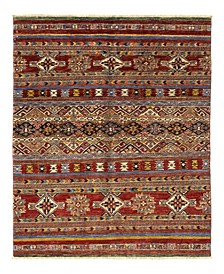 """CLOSEOUT! One of a Kind OOAK1138 Caramel 4'2"""" x 6'2"""" Area Rug"""