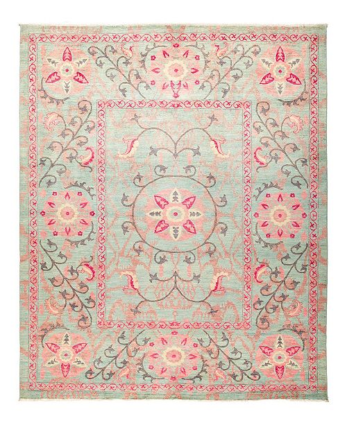 "Timeless Rug Designs One of a Kind OOAK1255 Rose 9'1"" x 11'10"" Area Rug"