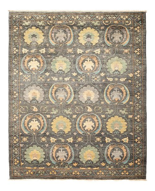 """Nourison CLOSEOUT! Timeless Rug Designs One of a Kind OOAK1304 Mist 5'1"""" x 7'10"""" Area Rug"""