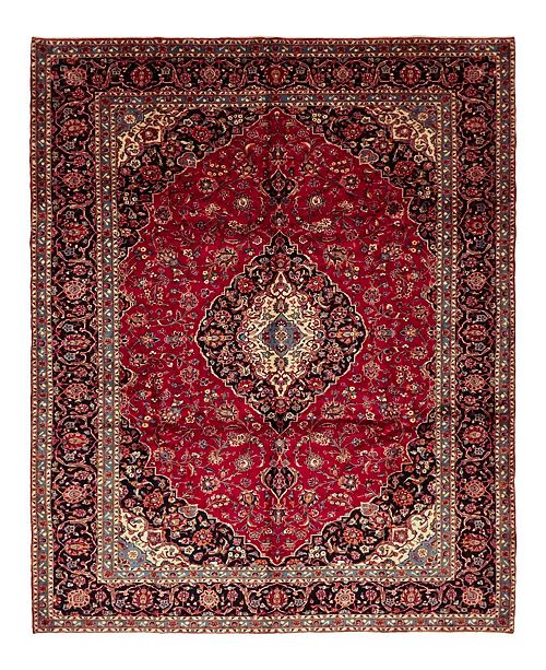 """Timeless Rug Designs CLOSEOUT! One of a Kind OOAK1548 Red 9'10"""" x 14' Area Rug"""