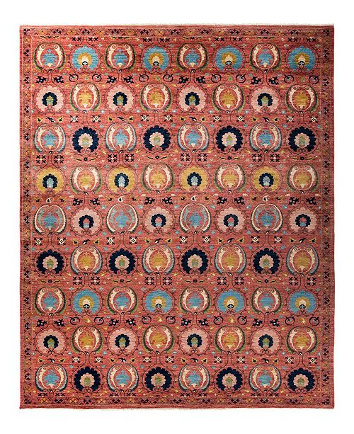 "Timeless Rug Designs CLOSEOUT! One of a Kind OOAK1794 Tan 10'2"" x 14' Area Rug"