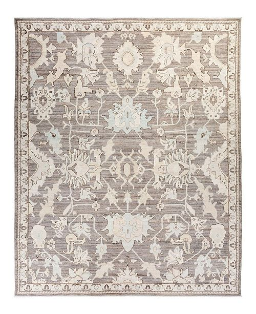 "Timeless Rug Designs One of a Kind OOAK2003 Mist 8'10"" x 11'10"" Area Rug"