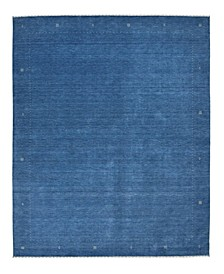 "Timeless Rug Designs One of a Kind OOAK2521 Blue 9'3"" x 11'11"" Area Rug"
