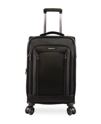 """Elswood 21"""" Softside Carry-On Luggage with Charging Port"""