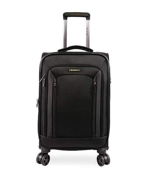 """Brookstone Elswood 21"""" Softside Carry-On Luggage with Charging Port"""