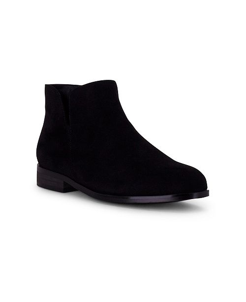 Wanted Dipper Ankle Bootie with V-Cut Detail