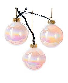 6-Light 80MM LED Glass Ball Light Set