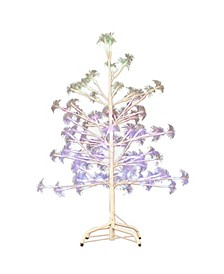 4-Foot Fiber Optic White Birch Tree