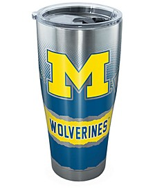 Michigan Wolverines 30oz Knockout Stainless Steel Tumbler
