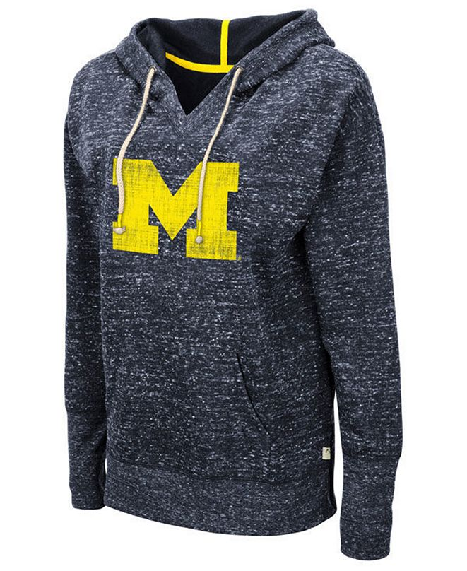 Colosseum Women's Michigan Wolverines Bradshaw Hooded Sweatshirt
