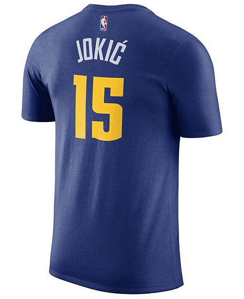 Nike Men's Nikola Jokic Denver Nuggets Statement Player T-Shirt