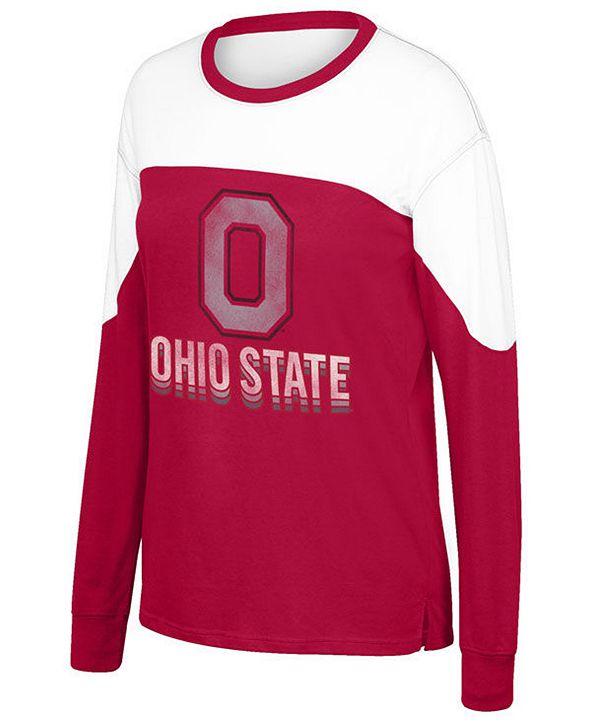 Top of the World Women's Ohio State Buckeyes Freshman Long Sleeve T-Shirt