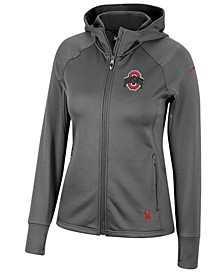 Spyder Women's Ohio State Buckeyes Hayer Full-Zip Fleece Jacket