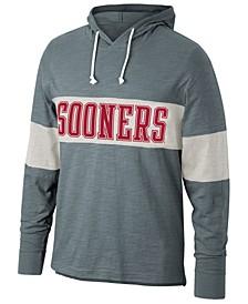 Men's Oklahoma Sooners Slub Colorblocked Hooded Sweatshirt