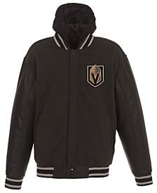 Men's Vegas Golden Knights 2-Tone Reversible Fleece Jacket