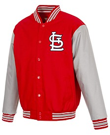 Men's St. Louis Cardinals Poly-Twill 2 Color Jacket