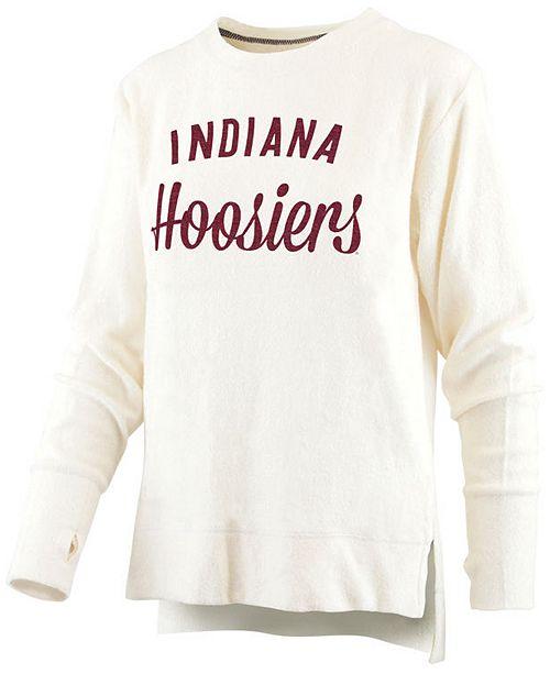 Royce Apparel Inc Women's Indiana Hoosiers Cuddle Knit Sweatshirt