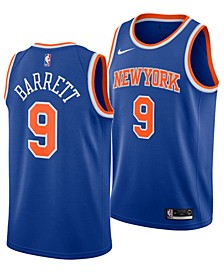 Men's RJ Barrett New York Knicks Icon Swingman Jersey