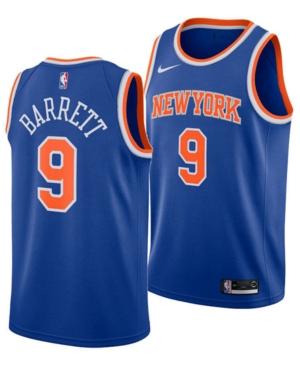 Nike Men's Rj Barrett New York Knicks Icon Swingman Jersey