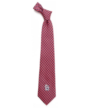St. Louis Cardinals Poly Gingham Tie
