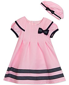 Baby Girls 2-Pc. Sailor Dress & Hat Set