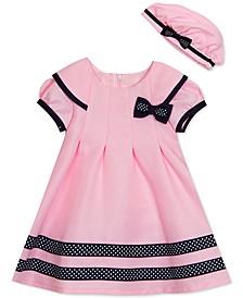 Baby Girls 2-Pc. Sailor Dress & Hat Set