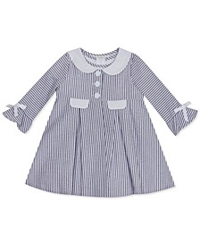 Baby Girls 2-Pc. Foil Seesucker Coat & Dress Set