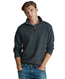 Polo Ralph Lauren Men's Stand-Collar Quarter-Zip Pullover