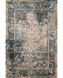 """Jules Camelot 3000 00262 58 Teal 5'3"""" x 7'2"""" Area Rug"""