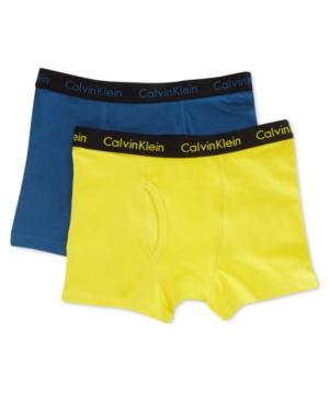 Calvin Klein 2Pk Color Boxer Briefs Little Boys (47)  Big Boys (820)