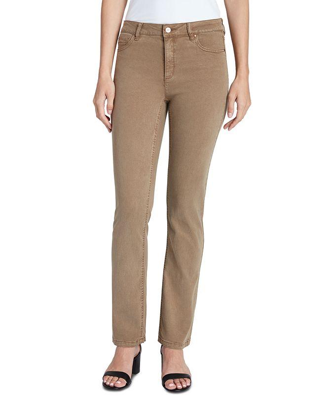 Jones New York Lexington Straight-Leg Jeans